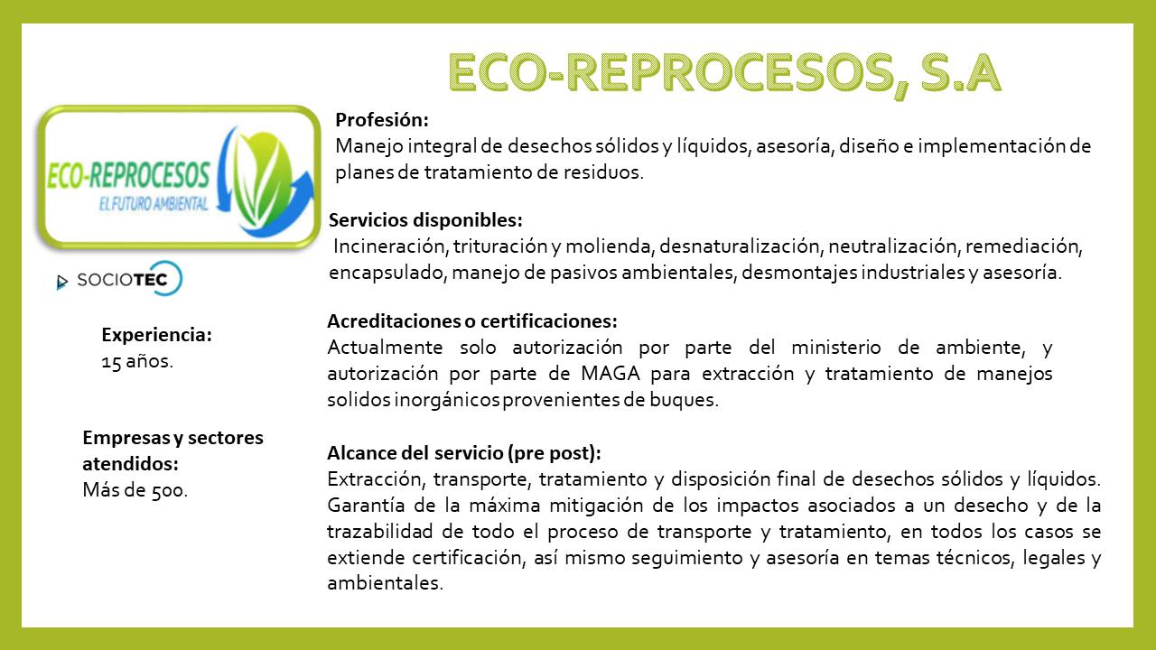 EcoReprocesos